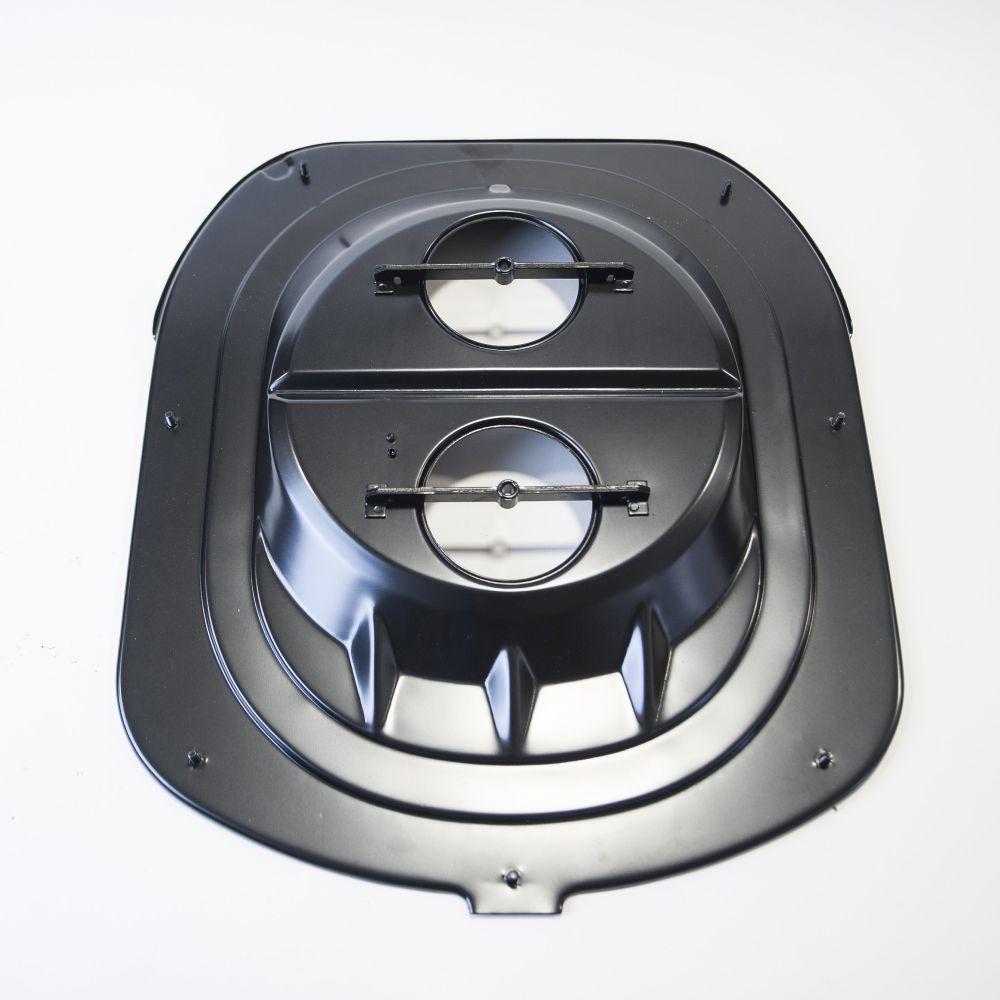 Hemi Air Cleaner : Hemi shaker base air cleaner stock metal cuda